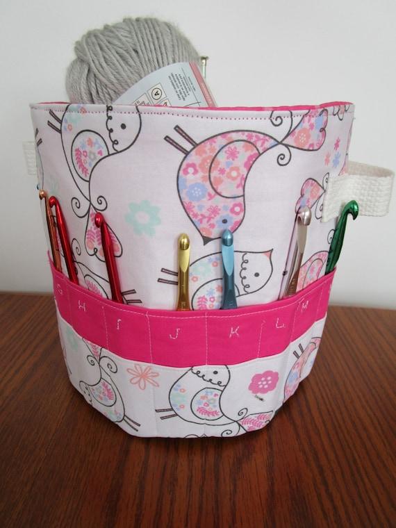120ef6fa80ba Organizer Basket Craft Tote Crochet Basket Pattern Home