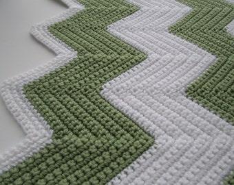 Crochet Pattern, Crochet Baby Blanket Pattern, Crochet Blanket Pattern, Throw Blanket, Crochet Afghan Pattern, CHEVRON CROCHET BLANKET