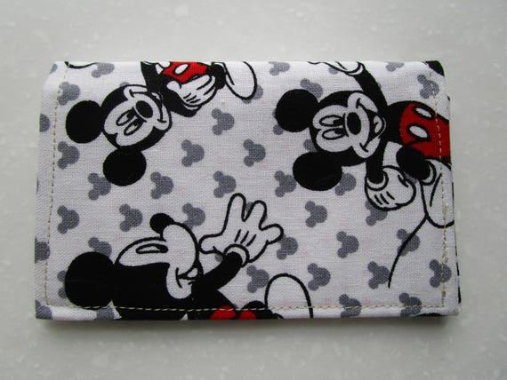 Disney, Brieftasche, Kartenhalter, Mickey Mouse, minimalistischen Brieftasche, Reise Brieftasche, schlanke Brieftasche, Disney Cruise,