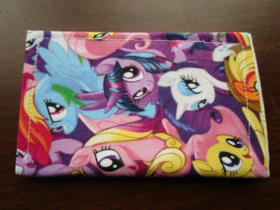 Cosplay Wallet Minimalist Wallet My Little Pony Business Etsy