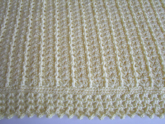 Crochet Patterns Crochet Baby Blanket Pattern Crochet Etsy