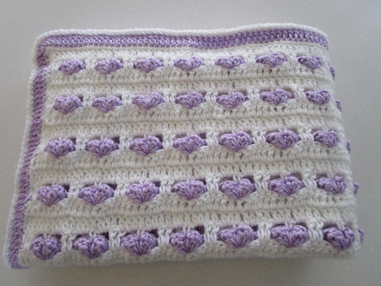 Crochet Pattern Crochet Baby Blanket Crochet Blanket Etsy