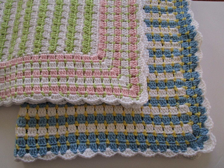 Crochet Patterns Baby Blanket Crochet Blanket Pattern Etsy