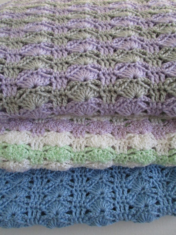 Crochet Throw Blanket Crochet Baby Blanket Pattern Easy Etsy