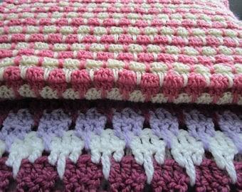 Crochet Pattern, Crochet Blanket Pattern, Crochet Afghan Pattern, PDF, Tutorial, Throw Blanket, Crochet Baby Blanket Pattern, LARKSFOOT