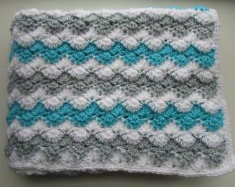Crochet Baby Blanket Pattern, Crochet Throw Blanket