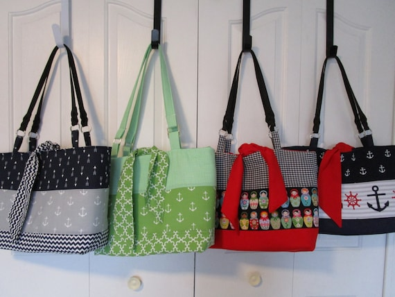 Tote Bag Purse Sewing Patterns Pattern Tote Sewing Etsy