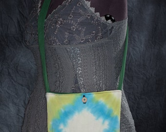 Tie-Dye Reversible Upcycled T-Shirt Tote