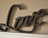 Word Art Wood 3D Cutout 39 Love 39 by MRC Wood Products