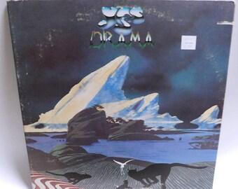 YES Drama - Vintage Vinyl Record Album - Atlantic SD 16019 - 1980 Vg+/EXC