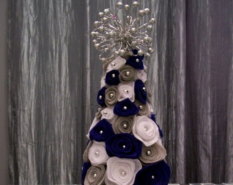 Christmas Tree, Table Top Tree, Felted Tree, Christmas Decorations, Ornaments
