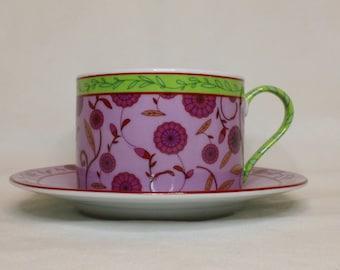 Coffee Cups, Purple Cups, Tea Cups, Coffee Set
