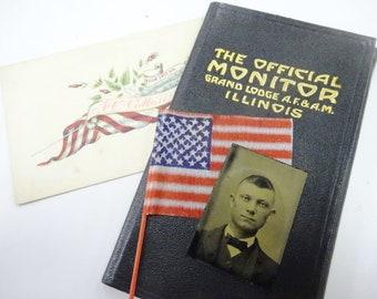 Masonic lodge book | Etsy
