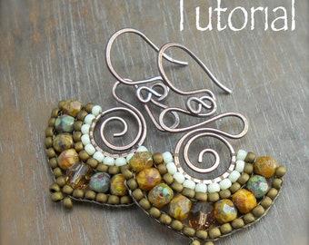 TUTORIAL Namaste Bead Woven Earrings