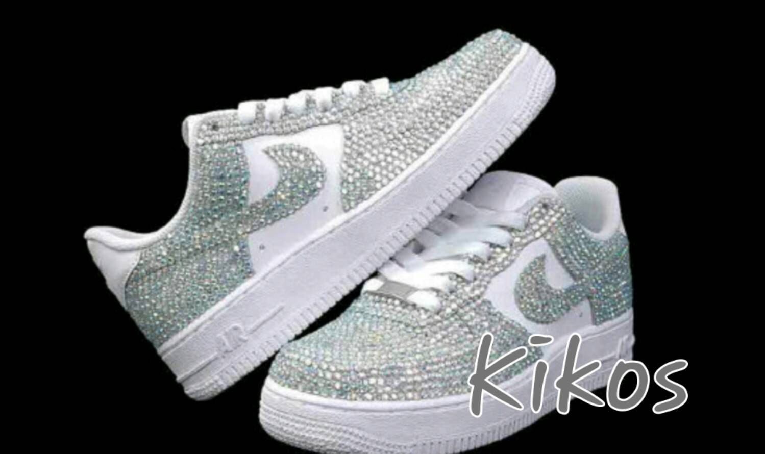 ... details for 603fc ef26c Swarovski Nike Air Force 1s Womens sizes Etsy  ... bfa1939507