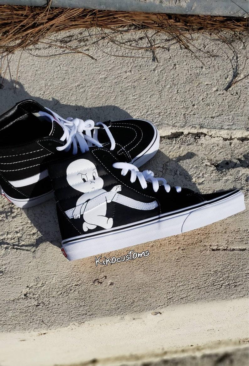 3817314e65d Casper the Mad Ghost Vans