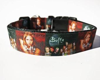 Vampire TV Show Inspired Dog Collar