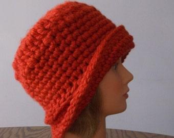 Tennessee Tango Orange Womens Cloche Hat