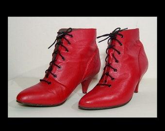 dfe0014a50b Granny boots size 9 | Etsy