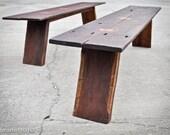 Reserved for Darren Boyd - Reclaimed Butterfly Bench 77x20x18 elegant rustic reclaimed boards ooak primitive teak