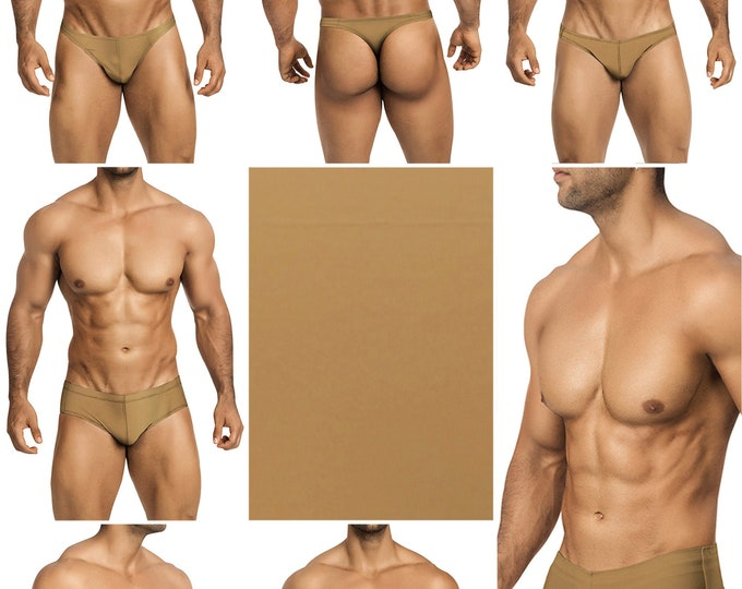 Sable Swimsuits for Men by Vuthy Sim. Choose Thong, Bikini, Brief, Squarecut, Boxer or Board Shorts - 27