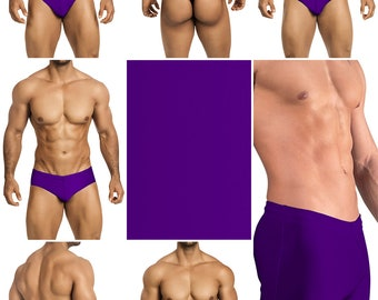 Purple Bathing Suits from Vuthy Sim in 7 styles - 21