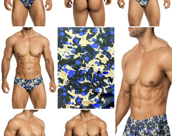 Royal Rorschach Vuthy Sim Mens Swimsuits in 7 Styles - 267