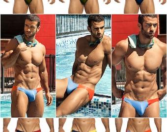 Asymmetrical Swim Bikini in 18 Color Combinations