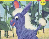 Dolls Stuffed Toys Patterns 70s Vintage Pattern Book Penguin Giraffe Cat Koala Elephant Horse Softies ORIGINALS NOT PDF