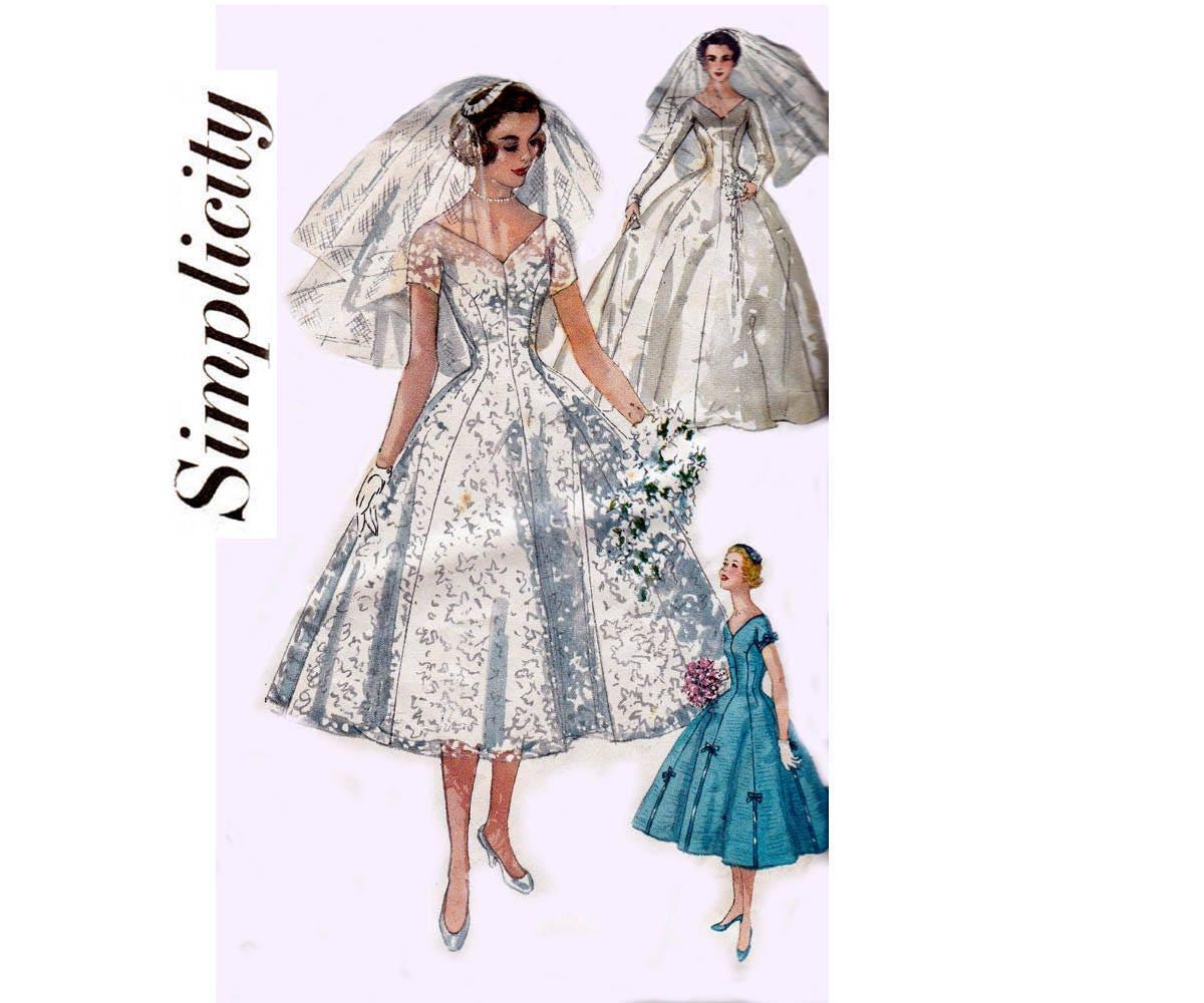 Simplicidad 1461 mujeres completo falda princesa estilo boda   Etsy