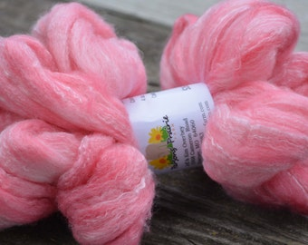 Cotton Candy - Hand Dyed Roving