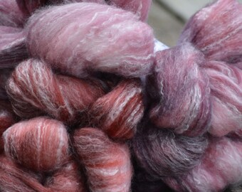 Cherry Cobbler - Hand Dyed Roving