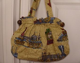 06333d4ee670 Vintage 1960 s 1970 s Handbag Knitting Bag
