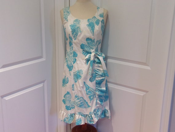 Vintage 1960's  Serbin Of Florida  Dress  w/Butter