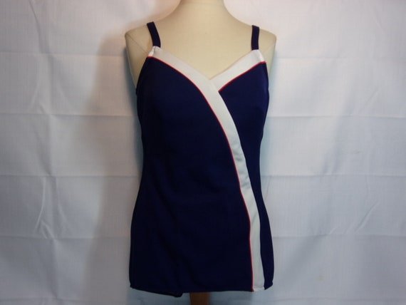 Vintage 1960's  Robby Len One Piece Swimsuit