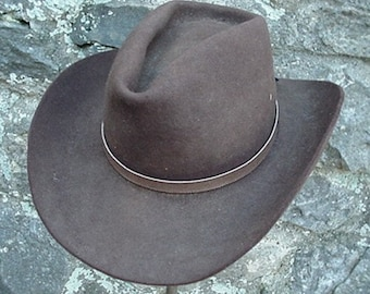 6bdc61df0ef WESTERN HATBAND Hat Band Light Brown Snake Skin with ties