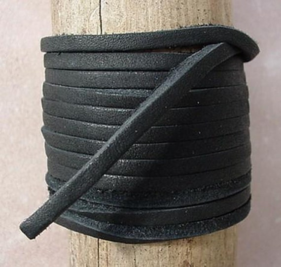 Dangerous Threads Lace Lacing Leather Topgrain Latigo Milk Chocolate Brown 12 Feet 2 Pieces