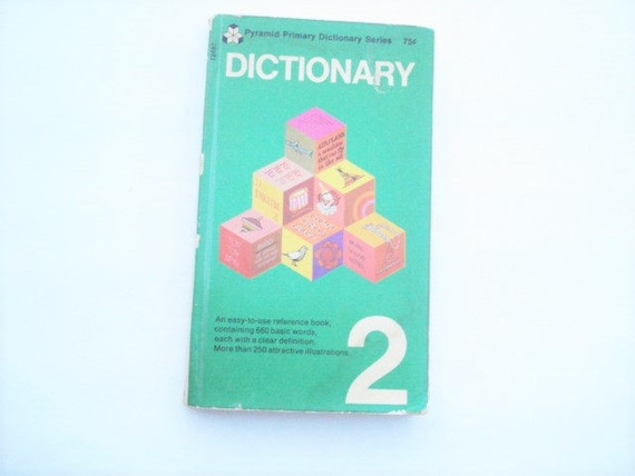 Colorful Dictionary Picture Dictionary Kids Reading Learn To Read Picture Book Words Childhood Book Kids Book Visual Aid Education