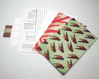 DIY Kit 3 Hole Pamphlet Stitch Modern Glam #6