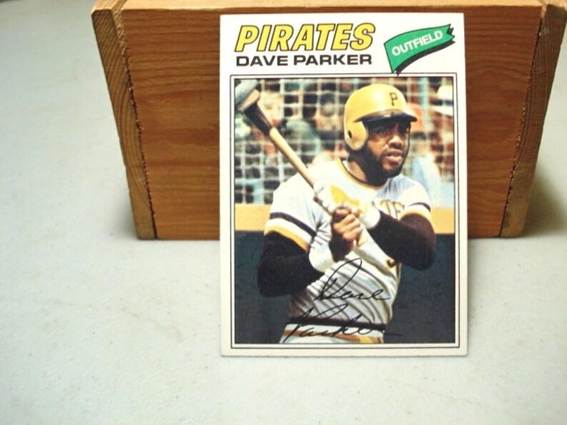 Dave Parker Pirates Pittsburg Pirates Baseball Card Mlb Sports Card Pirates Card Collecting Sports Dave Parker Card