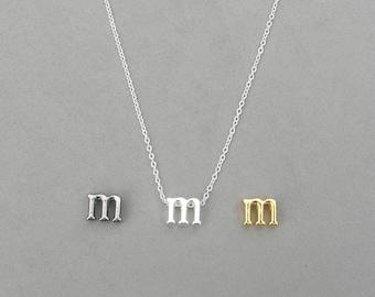 Initial m Necklaces 373