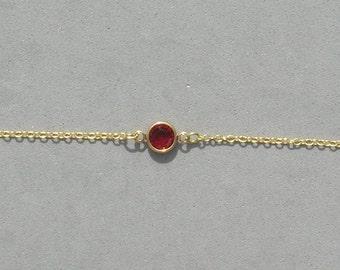 Swarovski July Birthstone Bracelet