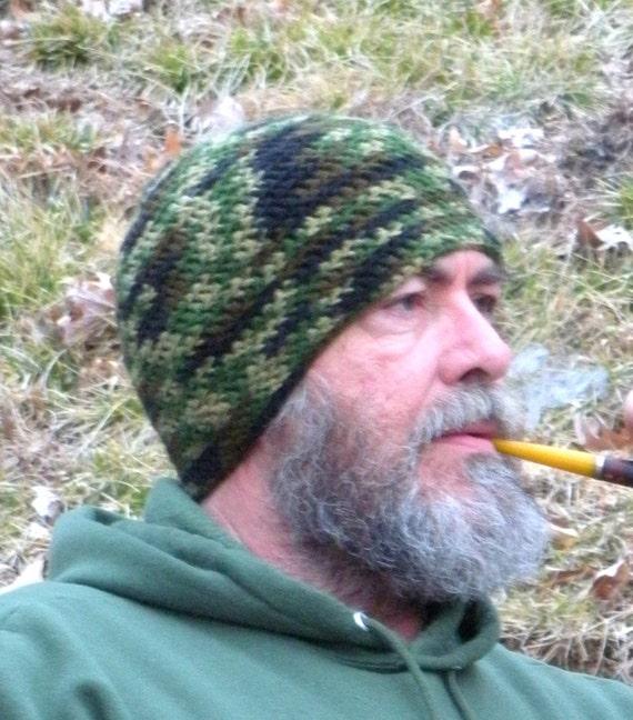 Herren Jagd Camouflage Winter Mütze Häkeln Etsy