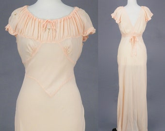 2efd40c79 Vintage 1930s Nightgown