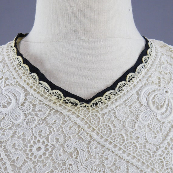 Antique 1900s Lace Blouse, Edwardian Gibson Girl … - image 8
