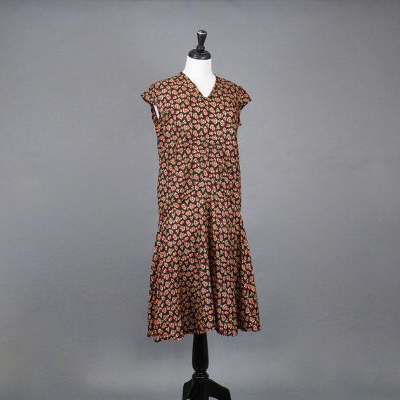 Vintage 1920s Print Dress, 20s Dress, Geometric P… - image 7