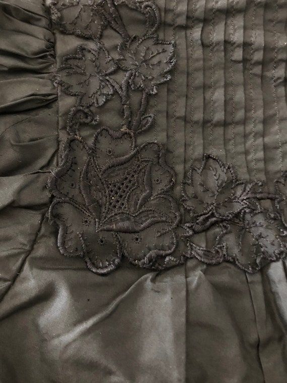 1890s Blouse with Dramatic Leg of Mutton Sleeves,… - image 6