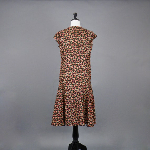 Vintage 1920s Print Dress, 20s Dress, Geometric P… - image 5