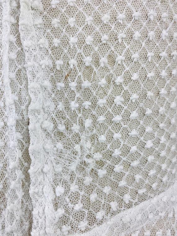 Edwardian Mixed Lace Blouse, 1900s Embroidered Ne… - image 8