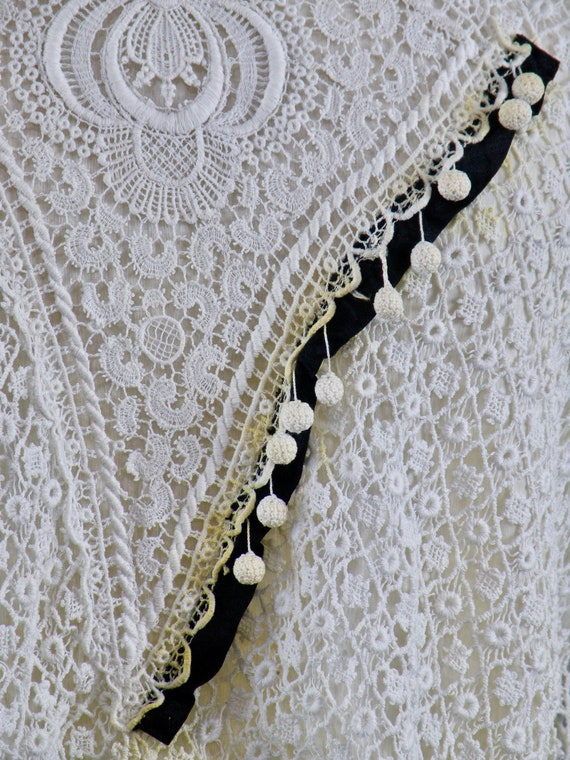 Antique 1900s Lace Blouse, Edwardian Gibson Girl … - image 7
